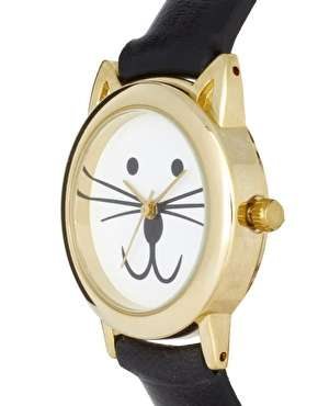 Feline-Faced Timepieces