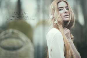 Emily Soto's 'Forest Child' Editorial Evokes an Ethereal Pixie-Like Feel