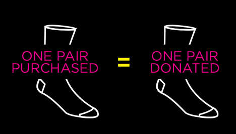 One-for-One Hosiery Brands - Bombas Socks Help Give Customers and Those in Need Quality Garments
