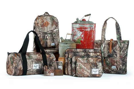 Herschel Supply Co. Real Tree Prints Collection