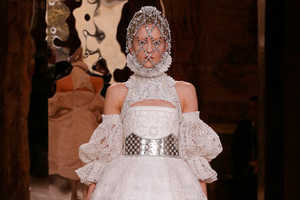 The Alexander McQueen Fall 2013 Runway Provides Lessons in Divinit