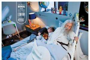 These Steimatzky Books Ads Lets You Snuggle Up to Gandalf and Stalin