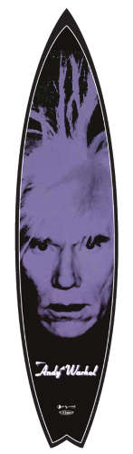 Iconic Pop Art Surfboards - These Andy Warhol Surfboards by Tim Bessell are Works of Art