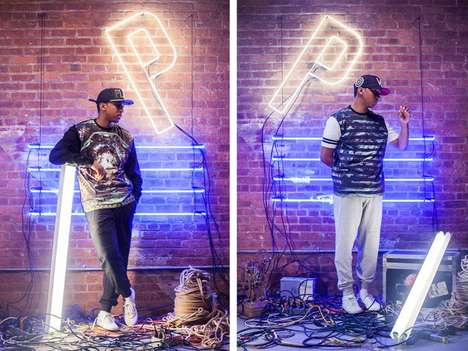 Electric Nightlife Streetwear Lookbooks - The Push Cloth by Pusha T Launches its Fall 2013 Lookbook