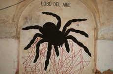 Arachnophobia Street Art