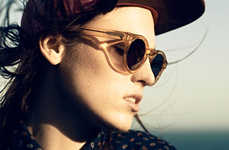 Chic Transparent Sunglasses