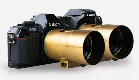 Instant Filter Camera Lenses - The Lomography Petzval Portrait Lens is Inspired by 1840s Technology