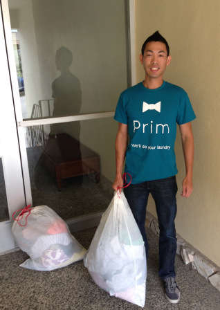 Time-Saving Laundry Services - The 'Prim' Laundry Delivery Service Does Your Laundry for You