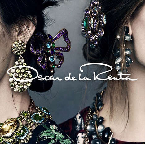Social Media-Geared Fashion Ads - The Oscar de la Renta Fall Campaign Debuts on Instagram