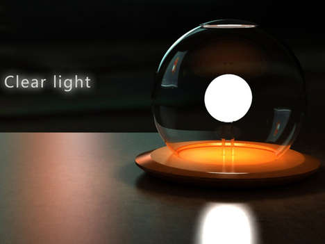 Whimsical Orb Lighting - The Clear Light by Siyu Huang and Jiahui Song is Powered by Saline Water