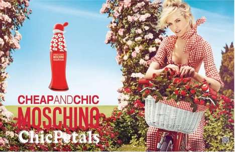 Country-Inspired Perfume Campaigns - The Moschino Cheap and Chic
