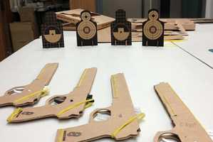 These Cardboard Guns Are Great for Training to Shoot Precisely