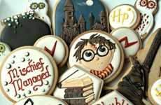 Theatrical Wizard-Themed Cookies