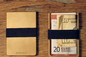 The Machine Era Wallet Streamlines the Classic Design of a Billfold