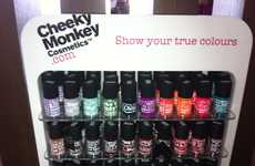 Unabashedly Blunt Packaging - Cheeky Monkey Cosmetics Does Not Hold Back