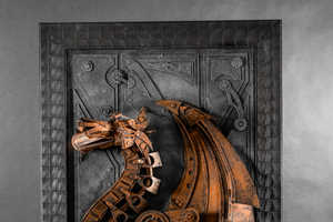 Lance Oscarson's Cardboard Steampunk Sculptures are Breathtaking