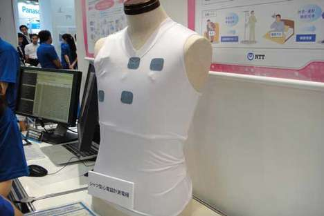 NTT Heart Rate Monitor Undershirt