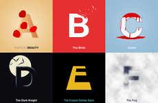 Famous Film Alphabets