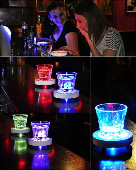 Light-Up Drink Coaster