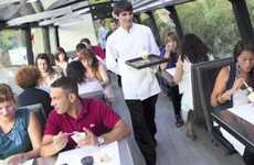 Luxe Travelling Eateries - The 'Gourmet Bus' Serves Haute Cuisine While You Sightsee