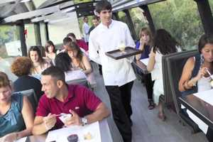 The 'Gourmet Bus' Serves Haute Cuisine While You Sightsee