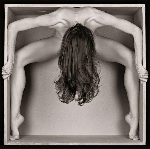Typographic Nude Photography