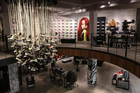 Street Culture Sneaker Shops - The Converse San Francisco Store Blends Lifestyle with Apparel