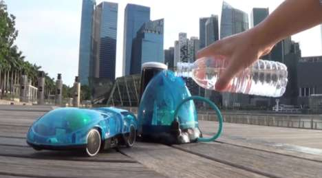 Water-Fuelled Toy Cars - The i-H2GO Water-Powered Toy is Controlled by Smartphone Apps