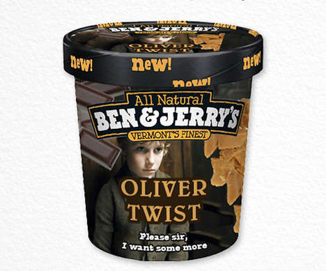 Book-Inspired Ice Cream