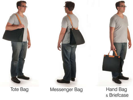 Crowd-Funded Convertible Bags - This Convertible Tote Can Transform into Three Styles