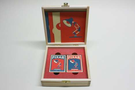 Pixar Playing Cards by Chris Anderson
