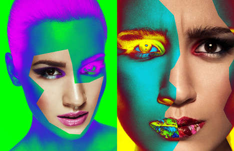 Neon-Colored Editorials