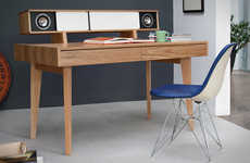 Built-In Sound System Workstations
