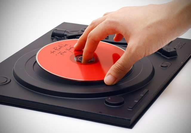 Turntable Hardcover Notebooks