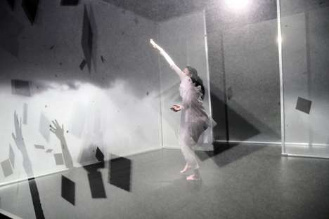 Virtual Choreography Visuals - Hakanai by Adrien M and Claire B is a Multi-Dynamic Dance Performance