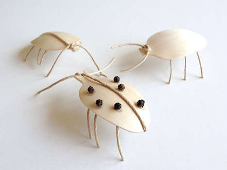 Wooden Spoon Insects