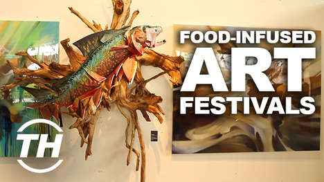 Food-Infused Art Festivals - The UNO and DOS Street Art Festivals Combine Tacos with Edgy Creativity