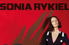 Avant-Garde Fashion Ads - The Sonia Rykiel Fall Campaign Stars Model Sam Rollinson