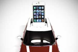 This MINI Cooper iPod Docking Station Will Charge Your Device as it Plays