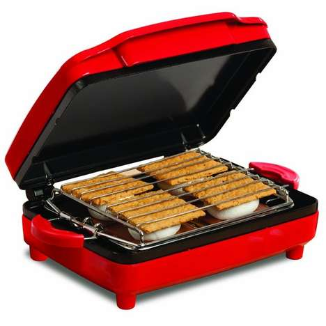 S'more-Making Machines - This S'mores Maker from Sensio Bella is a Summer Sensation
