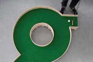 The Typographic Mini Golf Course from Ollie Willis is Text-Based