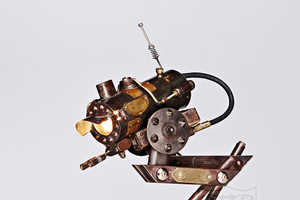 This Steampunk Lamp is Industrially Stylish