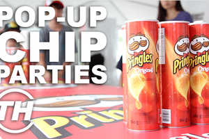 The Toronto Pringles Party Celebrates the Long Weekend with a Classic Snack