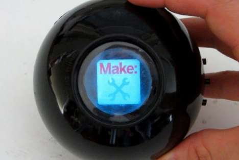 DIY Digital Fortune Tellers - This Magic 8 Ball Hack Integrates Customizable Responses