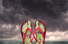 Monstrous Undead Footwear