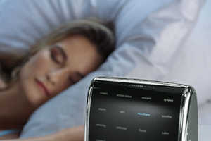 The Tranquil Moments Sleep Sound Machine is for Relaxing or Waking