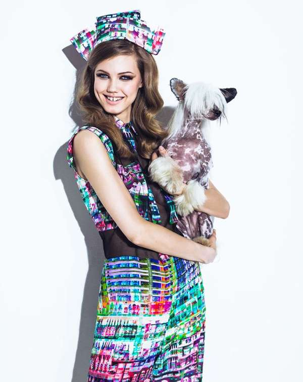 Vogue Brazil August 2013