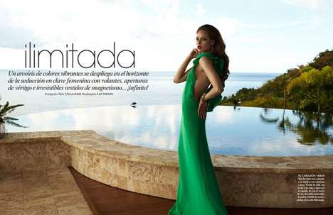 Glamorously Exotic Editorials - The Vogue Mexico