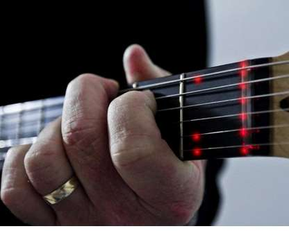 LED Learning Guitar