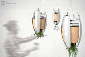 The 'LivingLight' Grows Herbs While Generating Its Own Power